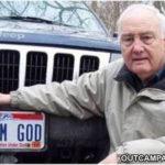 Plat Mobil Bertuliskan IM GOD ditolak, Atheis Amerika Gugat Pihak Berwenan